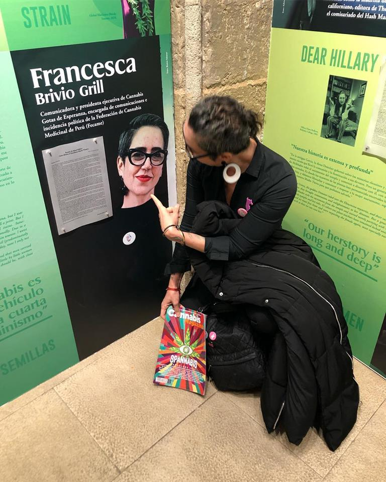 Francesca brivio grill cannabis women